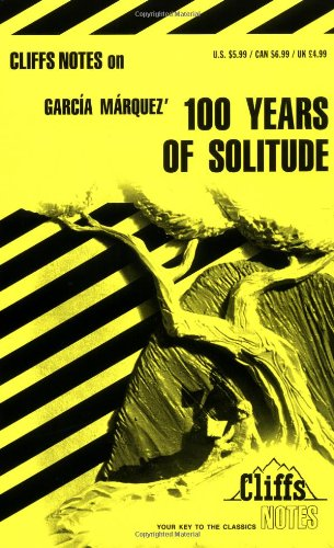 Garcia Marquez'100 Years of Solitude   1984 edition cover