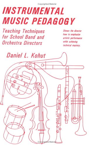 Instrumental Piano Pedagogy : Teaching Techniques for School Band and Orchestra Directors 1st edition cover