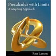 Precalculus With Limits Grade 12: A Graphing Approach 5th 2011 9781111427641 Front Cover