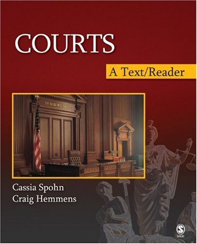 Courts A Text/Reader  2009 edition cover