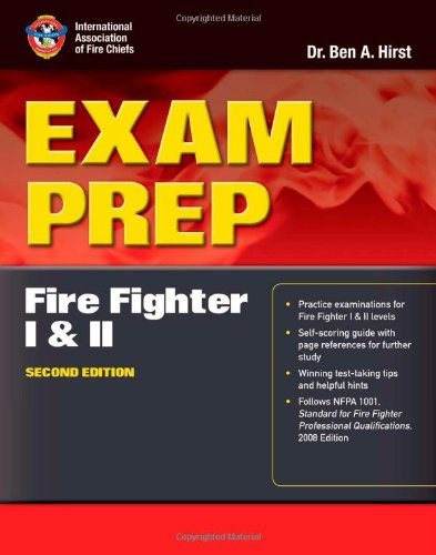 Fire Inspector I and II  2nd 2014 edition cover