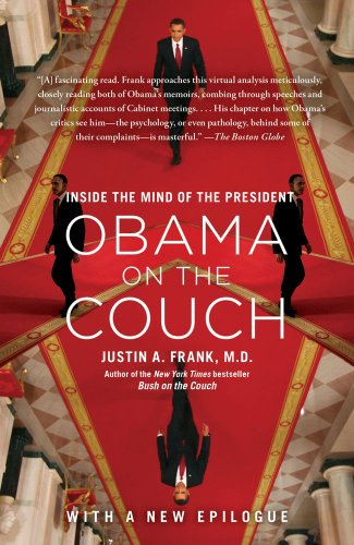 Obama on the Couch Inside the Mind of the President  2012 9781451620641 Front Cover