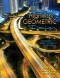 Highway Geometric Design Application of Design Standards in Inroads Revised  edition cover