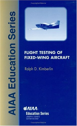 Flight Testing of Fixed Wing Aircraft   2003 edition cover