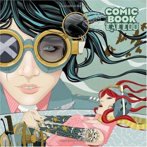 Comic Book Tattoo   2008 edition cover