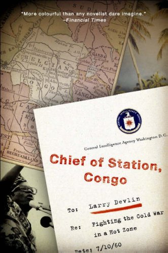 Chief of Station, Congo Fighting the Cold War in a Hot Zone  2008 edition cover