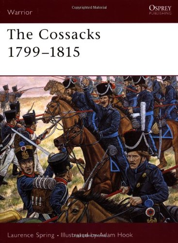 Cossacks 1799-1815   2003 9781841764641 Front Cover