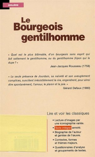 LE BOURGEOIS GENTILHOMME N/A edition cover