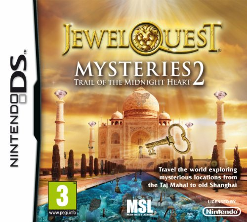 Jewel Quest Mysteries 2: Trail of the Midnight Heart (Nintendo DS) Nintendo DS artwork