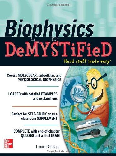 Biophysics   2011 9780071633642 Front Cover