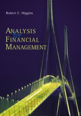 Analysis for Financial Management + Standard and Poor's Educational Version of Market Insight  7th 2004 edition cover