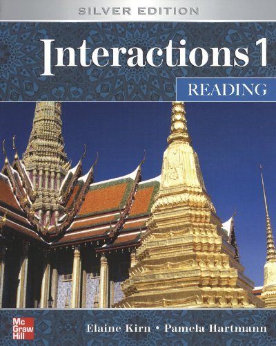Interactions 1 Reading Student Book: Silver Edition 5th 2006 edition cover