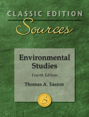 Classic Edition Sources: Environmental Studies  4th 2012 edition cover