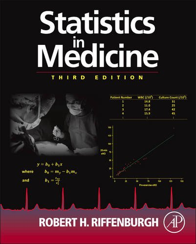 Statistics in Medicine  3rd 2012 edition cover