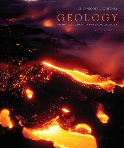 Geology An Introduction to Physical Geology 4th 2007 (Revised) edition cover