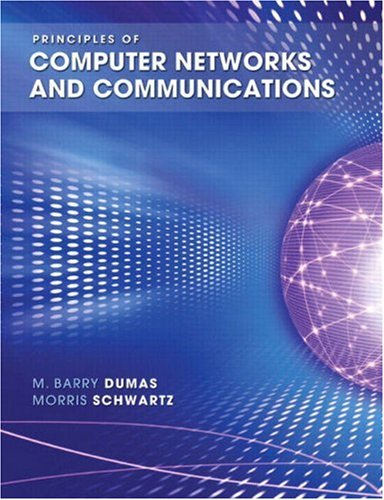 Principles of Computer Networks and Communications   2009 edition cover