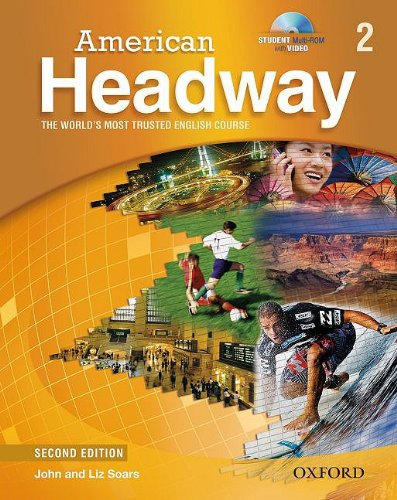 American Headway, Level 2  2nd (Student Manual, Study Guide, etc.) edition cover