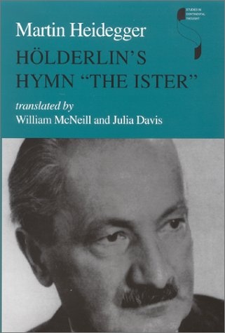 H�lderlin's Hymn the Ister  N/A edition cover