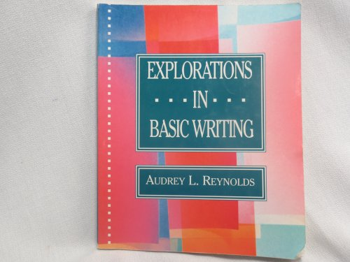 Explorations in Basic Writing  2nd 9780312066642 Front Cover