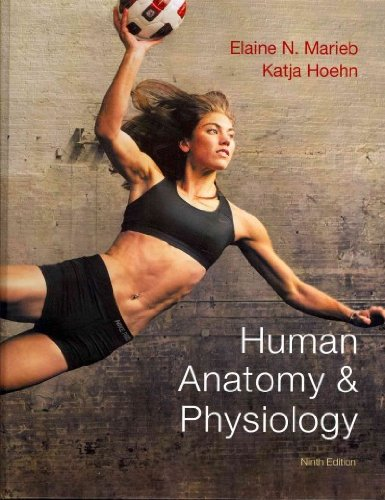 Human Anatomy and Physiology with MasteringA&P and Get Ready for A&P  9th 2013 edition cover