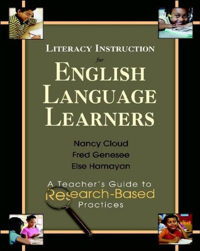 Literacy Instruction for English Language Learners A Teacher's Guide to Research-Based Practices  2009 edition cover