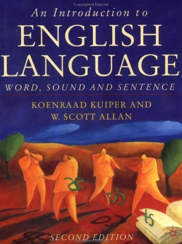 Introduction to English Language Word, Sound and Sentence 2nd 2004 (Revised) edition cover