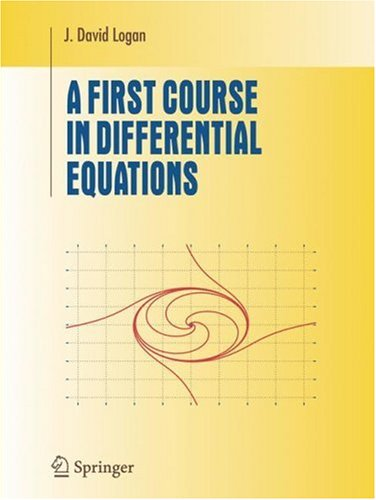 First Course in Differential Equations   2006 edition cover