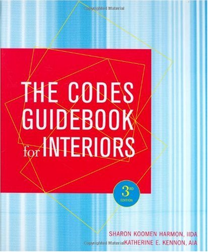 Codes Guidebook for Interiors  3rd 2005 (Revised) edition cover