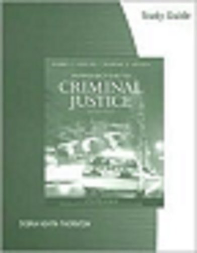 Criminal Justice  11th 2008 (Student Manual, Study Guide, etc.) 9780495101642 Front Cover