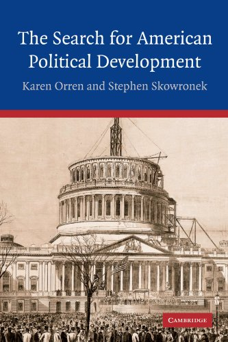 Search for American Political Development   2004 9780521547642 Front Cover
