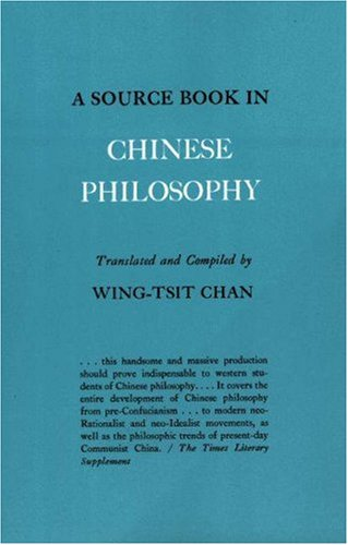 Source Book in Chinese Philosophy   1969 edition cover