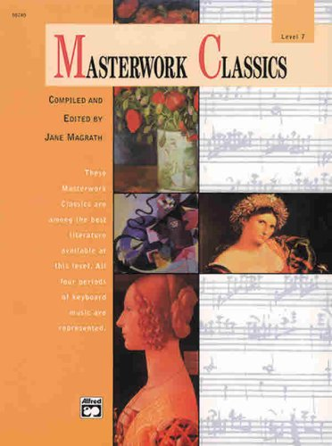 Masterwork Classics Level 7, Book and CD  2000 edition cover