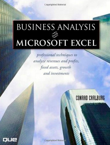 Business Analysis with Microsoft Excel  3rd 2007 (Revised) edition cover