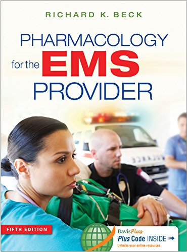 Pharmacology for the EMS Provider  5th 2016 (Revised) edition cover