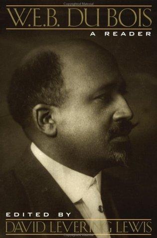 W. E. B. du Bois A Reader  1995 (Revised) edition cover