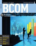 Bcom 6 + Coursemate Printed Access Card:   2014 edition cover