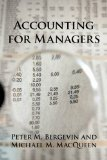Accounting for Managers  N/A edition cover
