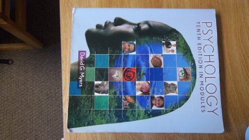 Psychology in Modules  10th 2013 edition cover