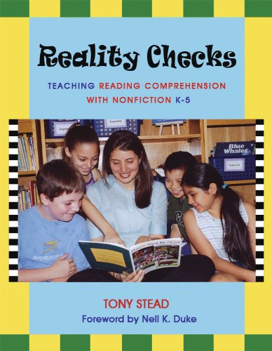 Reality Checks Teaching Reading Comprehension with Nonfiction K-5  2005 edition cover