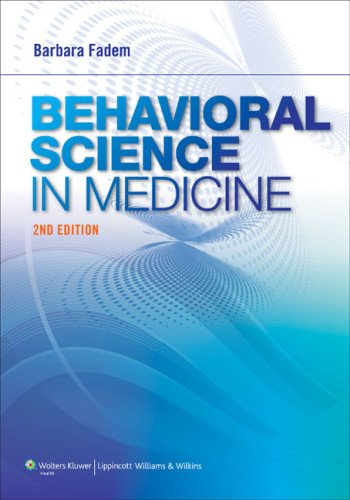 Behavioral Science in Medicine  2nd 2013 (Revised) edition cover