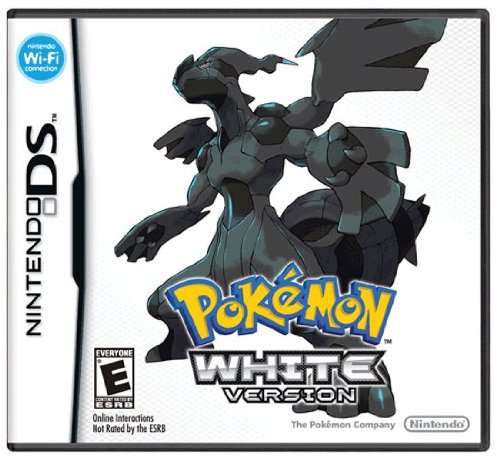 Pokemon White Version Nintendo DS artwork