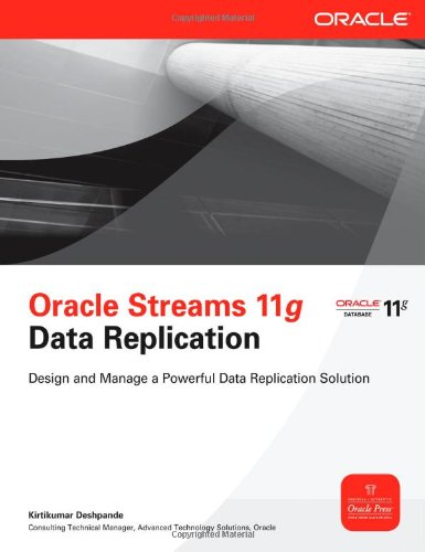 Oracle Streams 11g Data Replication   2011 9780071496643 Front Cover