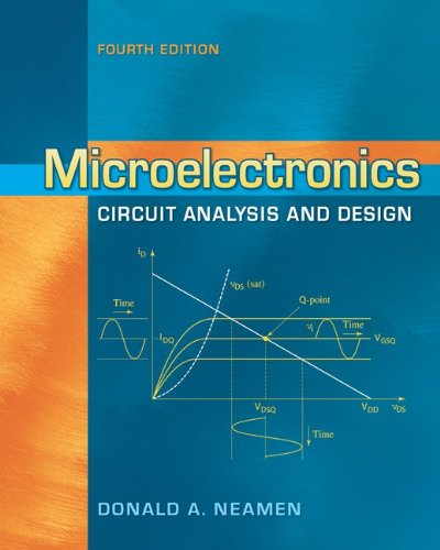 Microelectronics Circuit Analysis and Design  4th 2010 9780073380643 Front Cover