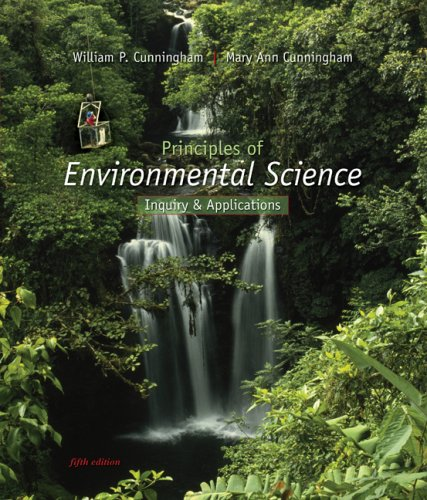 Principles of Environmental Science 5th 2009 edition cover