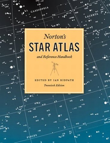 Norton's Star Atlas and Reference Handbook And Reference Handbook, 20th Edition 20th 2007 edition cover