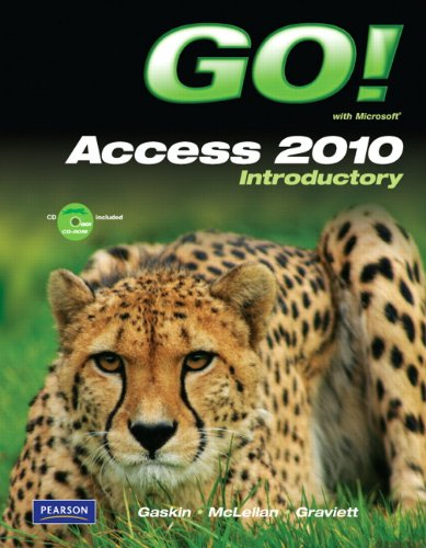 GO! with Microsoft Access 2010 Introductory   2011 edition cover