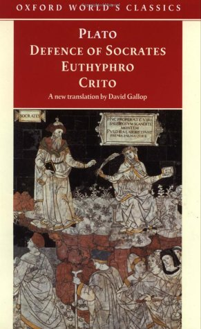Defence of Socrates, Euthyphro, Crito   1999 edition cover