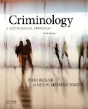 Criminology A Sociological Approach 6th 2014 9780199334643 Front Cover