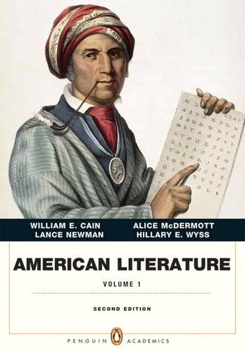 American Literature, Volume I (Penguin Academics Series)  2nd 2014 edition cover