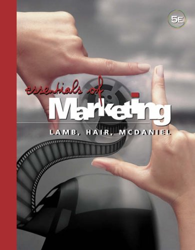 Essentials of Marketing  5th 2006 9780324316643 Front Cover
